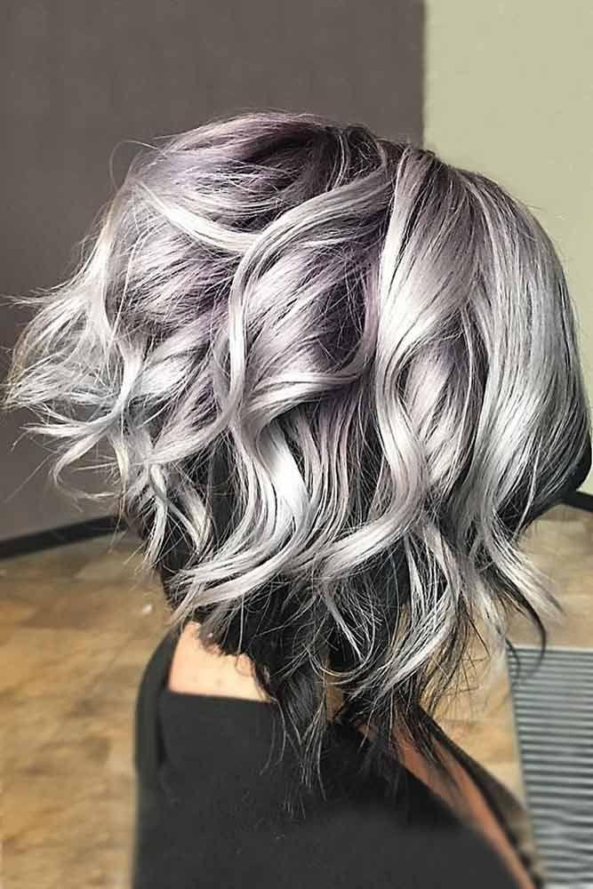 35 Beautiful Gray Hair Ideas Lovehairstyles Com Hair Styles Grey Ombre Hair Gray Hair Highlights