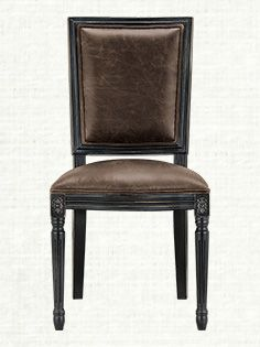 Cool Adele Leather Dining Side Chair Furniture Black Dining Machost Co Dining Chair Design Ideas Machostcouk
