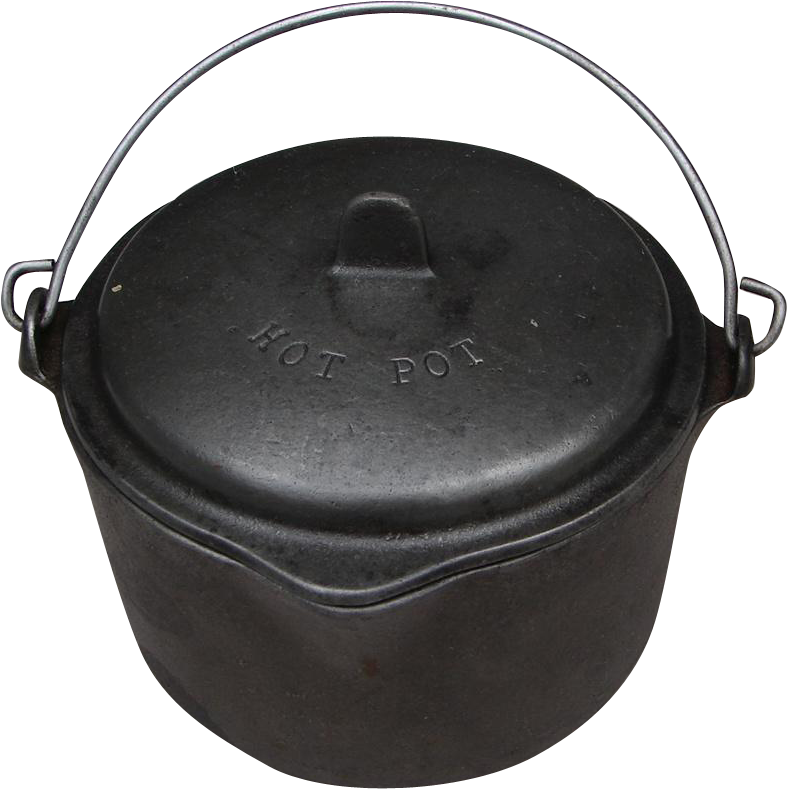 Vintage Itty Bitty Wagner Ware Hot Pot Tiny Cast Iron Kettle W Lid Cast Iron Kettle Kitchen Sale Rustic Farmhouse Kitchen