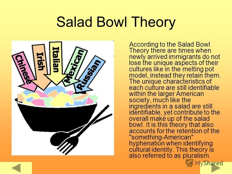 america is a salad bowl quote