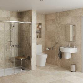 lux monaco alcove bathroom tile ideas walk in shower di