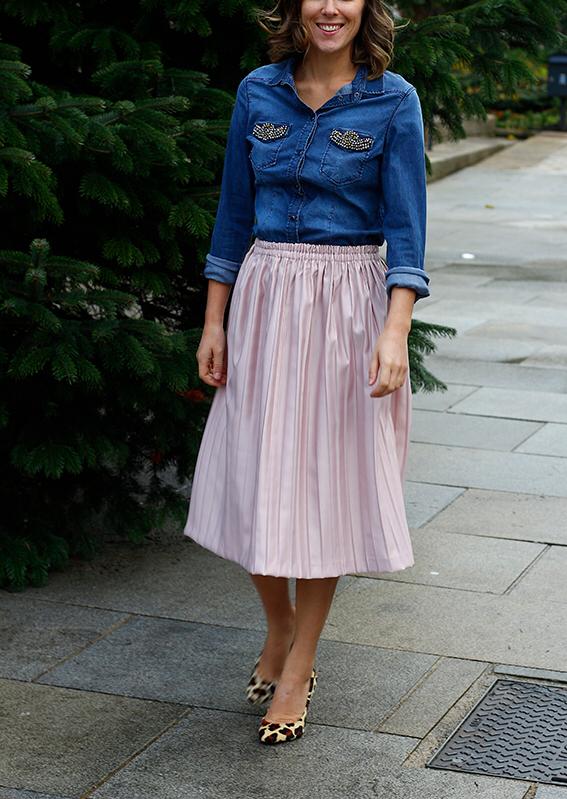 Tuto: Comment coudre une jupe plissée midi pour les fêtes – Par Issy