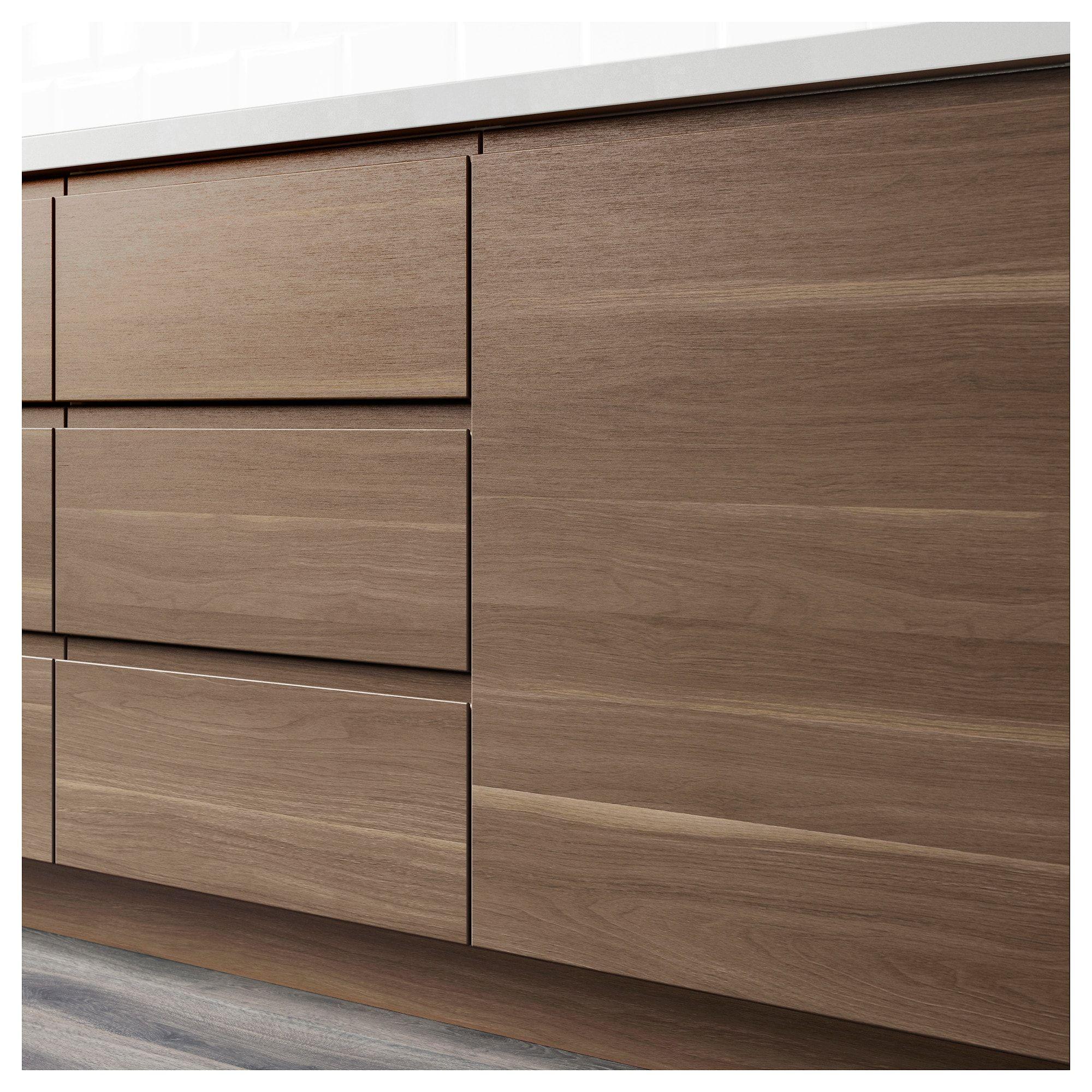 Corner base kitchen cabinet  VOXTORP p doorcorner base cabinet set lefthanded walnut effect