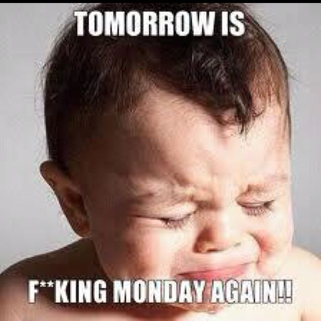 Charming Tomorrow Is Monday Again! :(