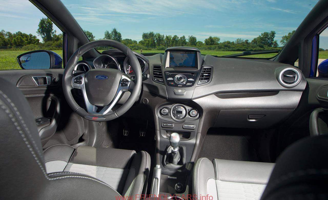 Ford Fiesta St 2014 Interior Car Images Hd Alifiah Sites