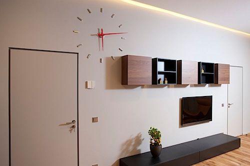 Design Interior Apartemen Studio desain interior apartemen studio bergaya klasik retro 09