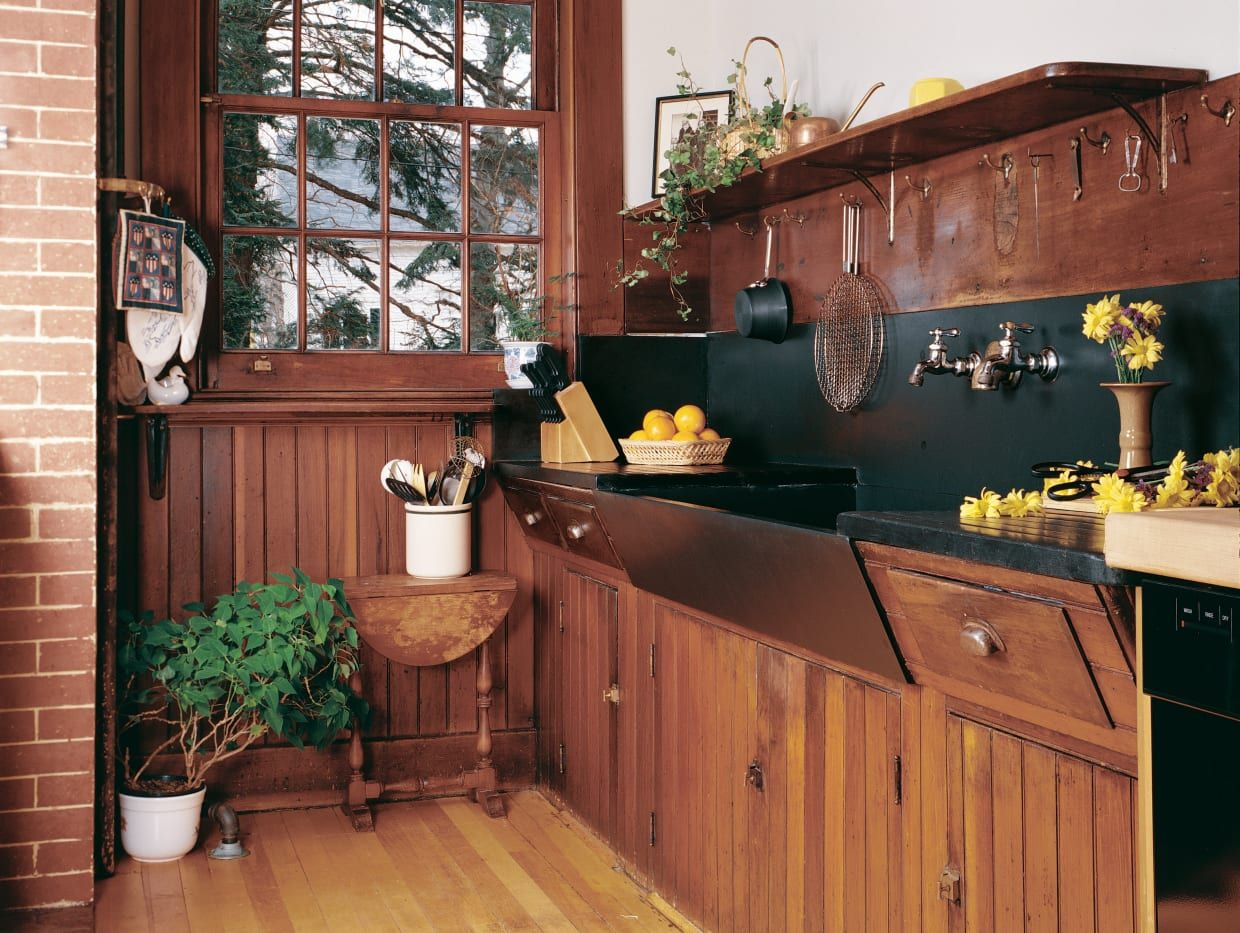 The Real Thing Timeless kitchen, Craftsman kitchen