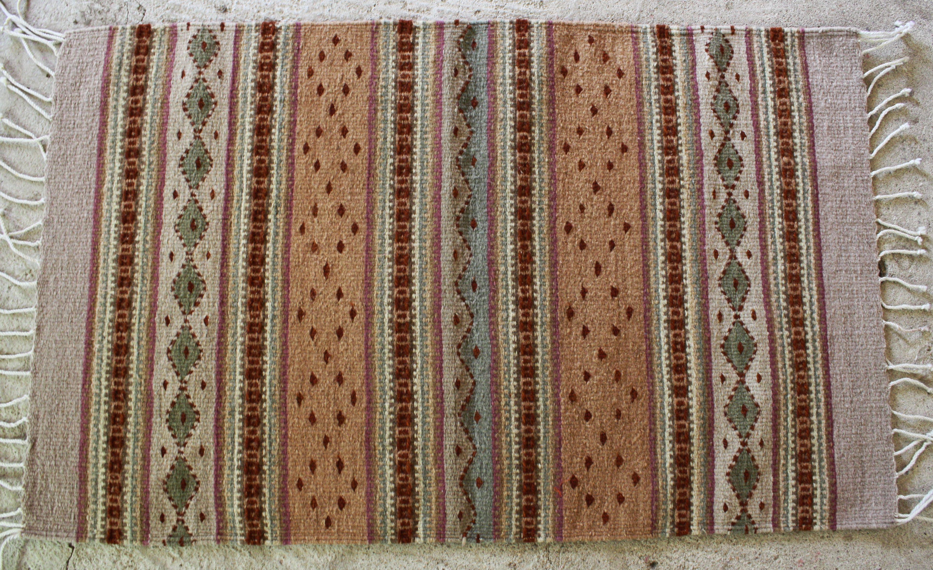 Manos Zapotecas Fair Trade Rug Handwoven By Aquilina Fair Trade