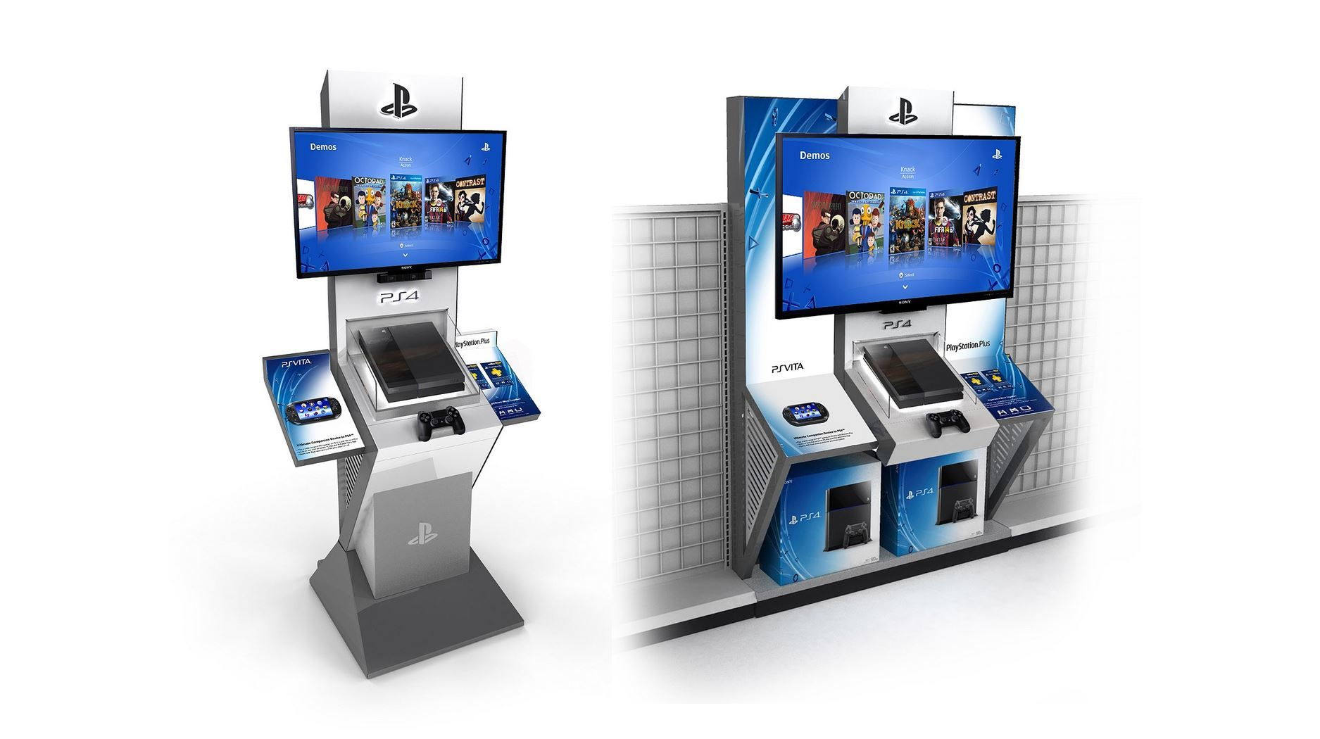 PS4 now playable at kiosks across the US, find one near