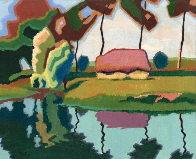Resultado de imagen para auguste herbin paintings