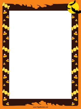 photograph relating to Free Printable Halloween Borders called This festive, no cost, printable Halloween border contains bats and