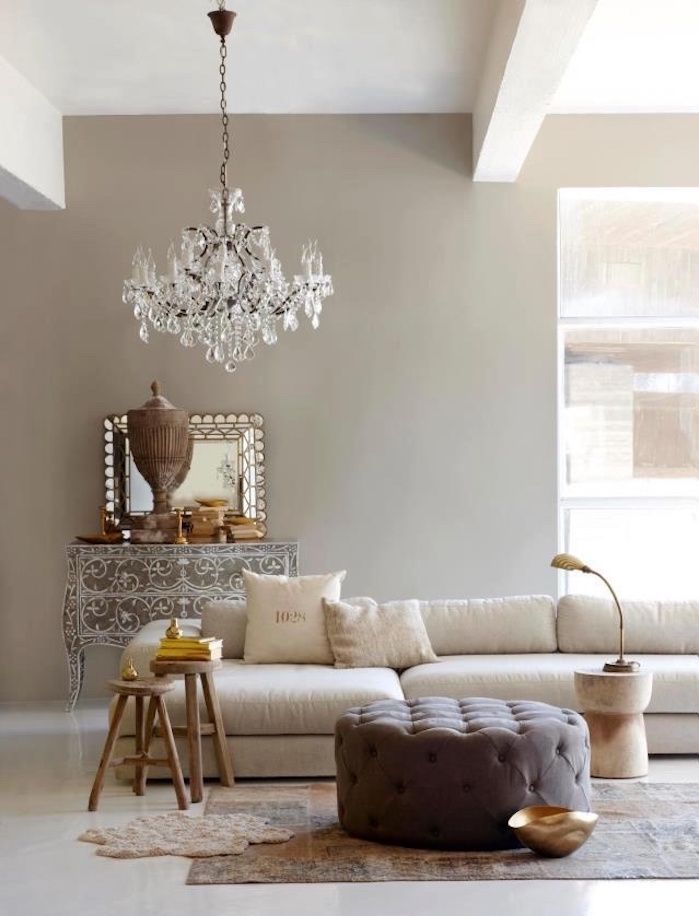 ▷ 1001+ idées | DECO | Salon taupe, Dessins muraux de ...