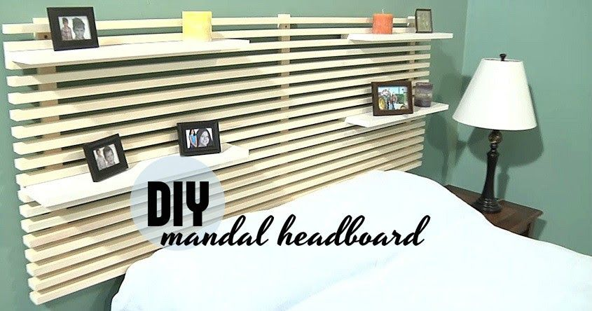 how to build a bed headboard
