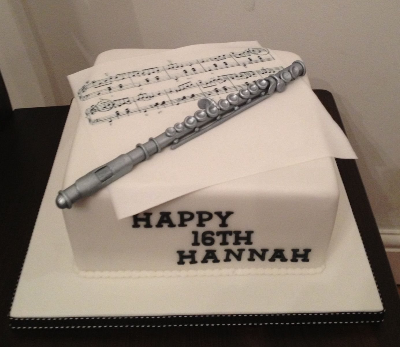 Happy Birthday Flute Cakes