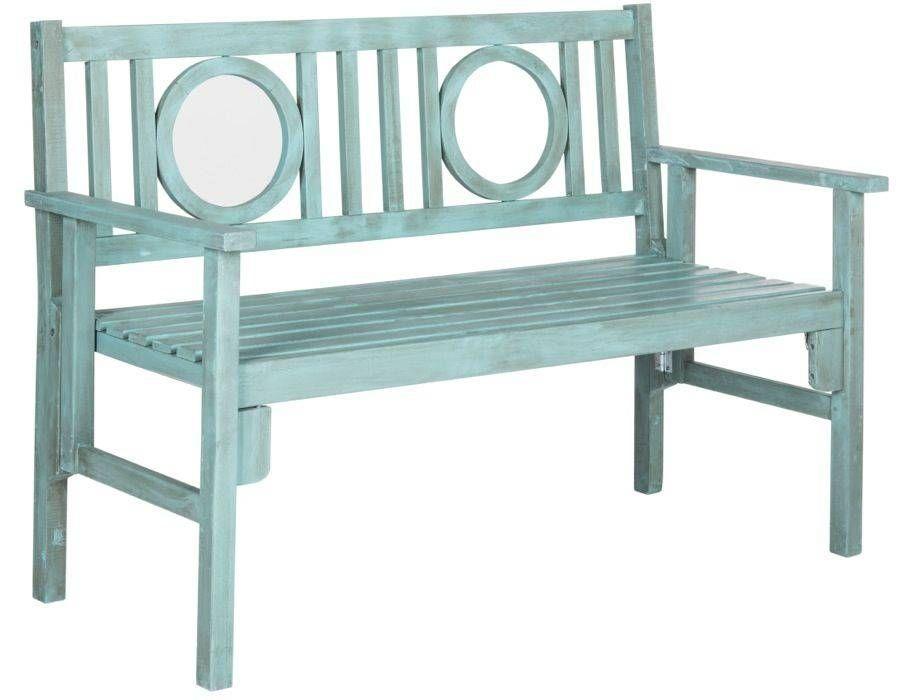 Galina Folding Outdoor Bench Bench, Outdoor living and Porch