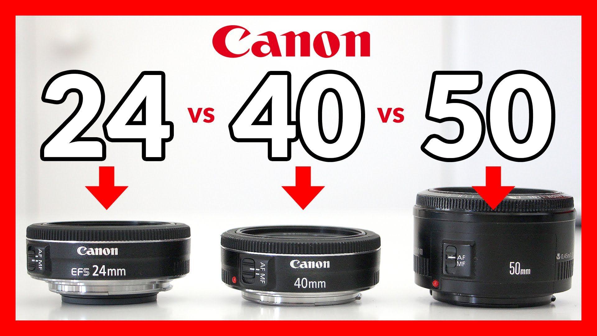 Canon 24mm Stm Pancake Vs 40mm Stm Pancake Vs 50mm 1 8 Pancake Lens Digital Photography Backdrops Canon Pancake Lens