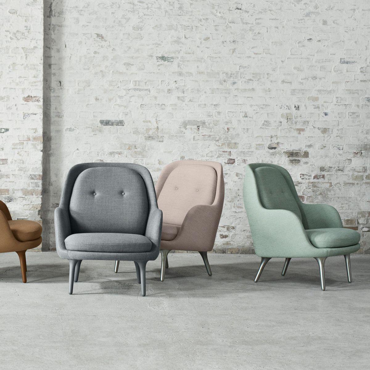 Sessel Design Von Jaime Hayon | Fritz Hansen Fri Sessel Gruppe Classic Chairs Pinte