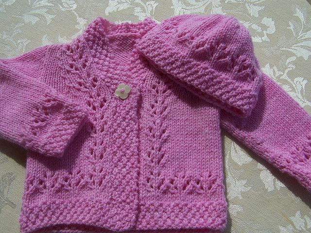 Lacy Cardigan, Hat, and Shoes by Sirdar Spinning Ltd.   Knitting ...