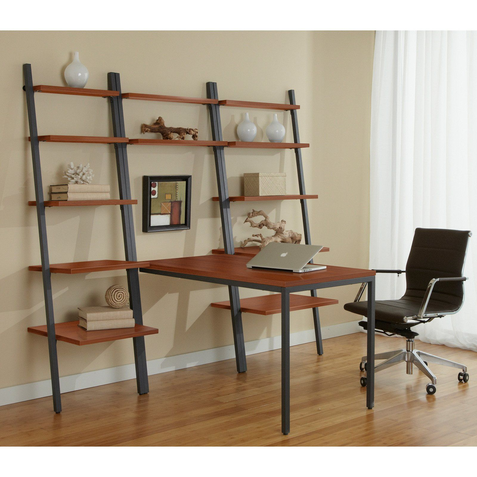 Have to have it jesper parson ladder bookcases with peninsula desk