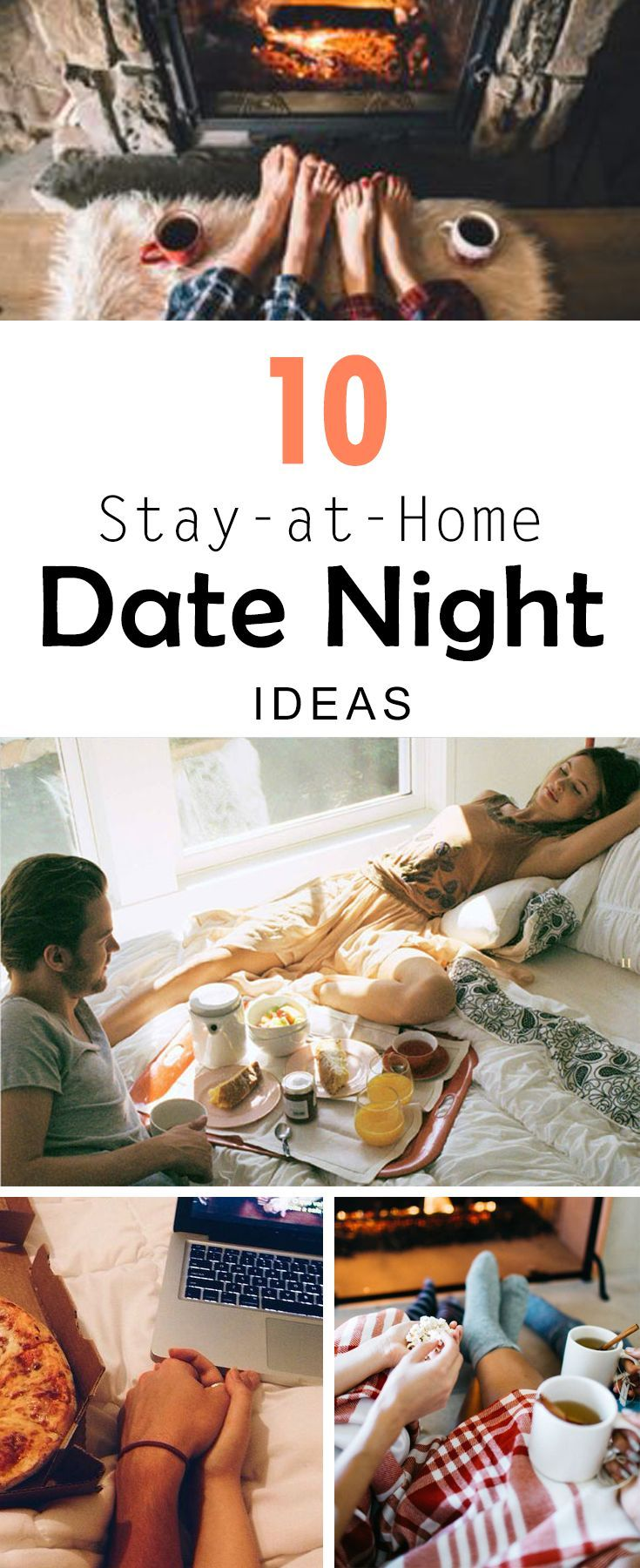 10 Stay-At-Home Date Night Ideas