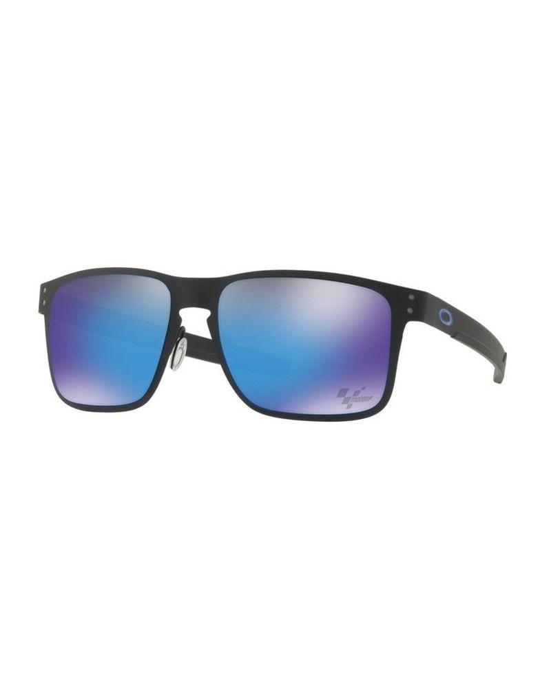 05f88ec6c0 eBay  Sponsored Sunglasses OAKLEY HOLBROOK METAL 4123-10 Matte Black Prizm  Sapphire