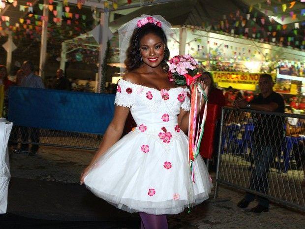 Fazer vestido festa junina noiva
