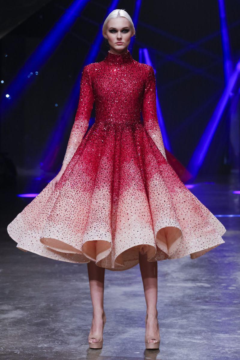 Michael Cinco Fashion Show: Michael Cinco. Modest Doesn't Mean Frumpy. For More