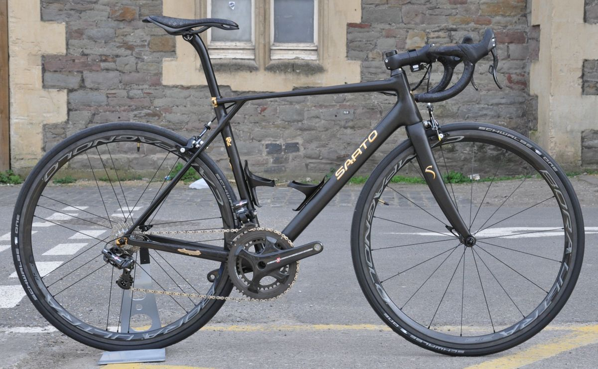 Sarto 18k  Probably the most expensive bike in the world  road carbon gold  Bespoked Show bike crocodile skin 6c69af3ba