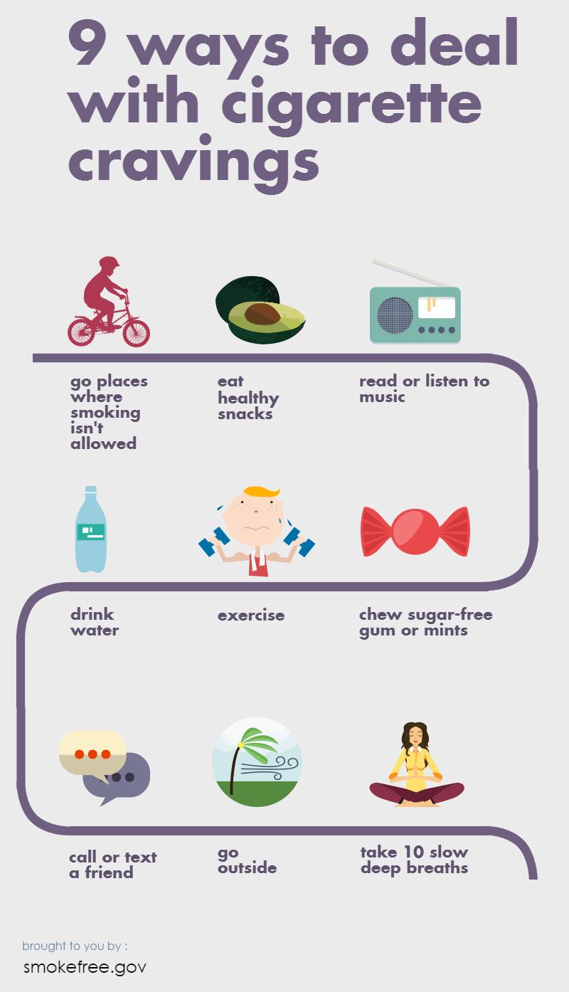 I 10 suggerimenti su come smettere di fumare