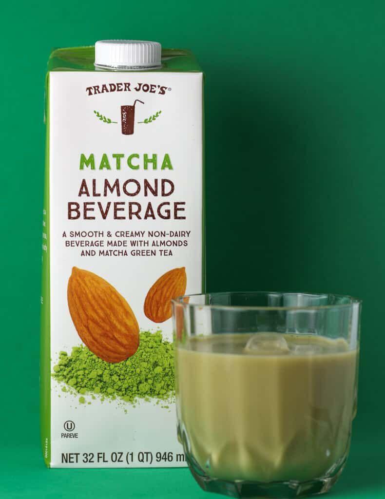 Trader Joe S Matcha Almond Beverage Matcha Almond Trader Joes Recipes Trader Joes Recipes Healthy
