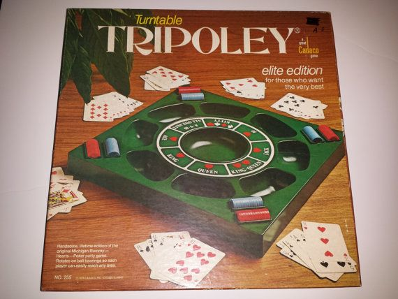 Pleasing Tripoley Turntable Elite Edition By Cadaco Card By Download Free Architecture Designs Scobabritishbridgeorg