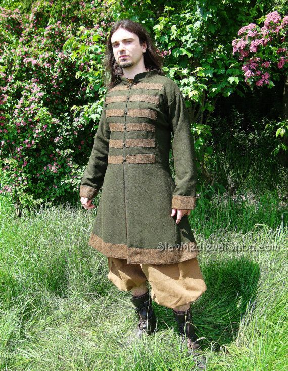 Early Medieval Viking Ruthenian Set Of Clothes When You Etsy In 2020 Viking Clothing Slavic Clothing Medieval Clothing