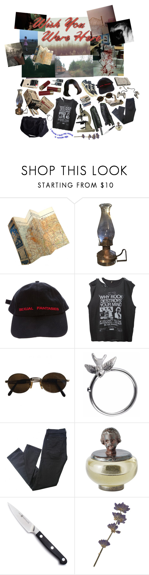 """""""Not one step closer"""" by anna-pensky ❤ liked on Polyvore featuring WALL, Vans, Vetements, R13, Moschino, Roz Buehrlen, 7 For All Mankind, Jan Barboglio, Zwilling J.A. Henckels and men's fashion"""