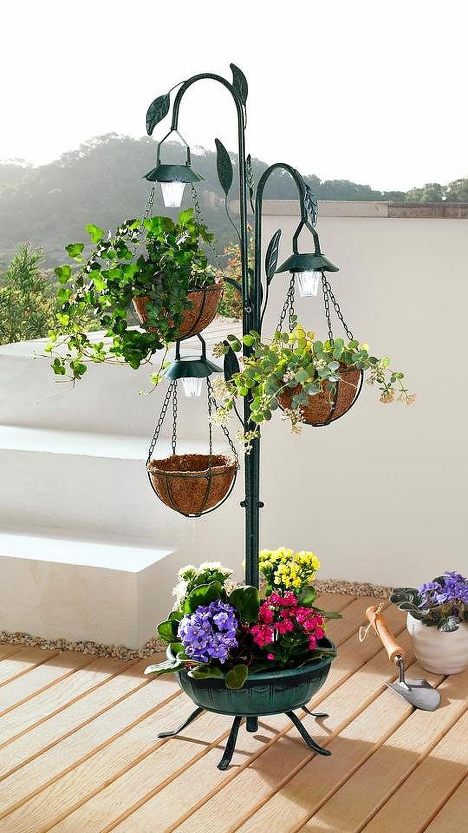 Heine Home Pflanzstander Mit Led Beleuchtung Baur Urbangardening Gartenbau Gruneoase Pflanzideen Pflanzen Beleuchtung Garten