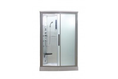 Eagle Bath Ws 803lf 54 Steam Shower Enclosure Unit With Frosted