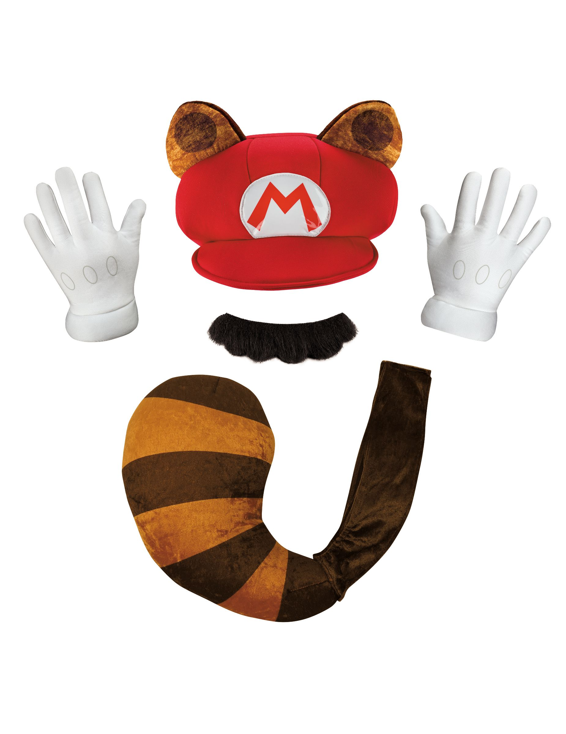 Kit Mario Tanooki Nintendo® adulto  Este kit Mario® es para adulto 2fbe2523b57