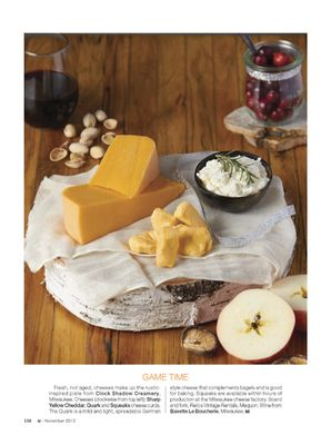 Another great cheese plate idea!