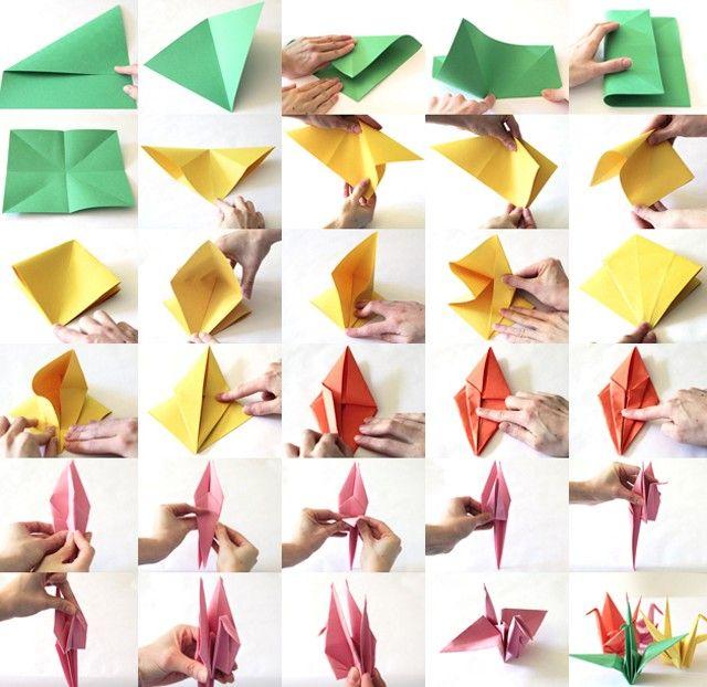 35+ DIY Easy Origami Paper Craft Tutorials (Step by Step) • K4 Craft | 622x640