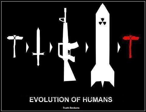 Image result for world war 4   Funny   Evolution, Art, Heart