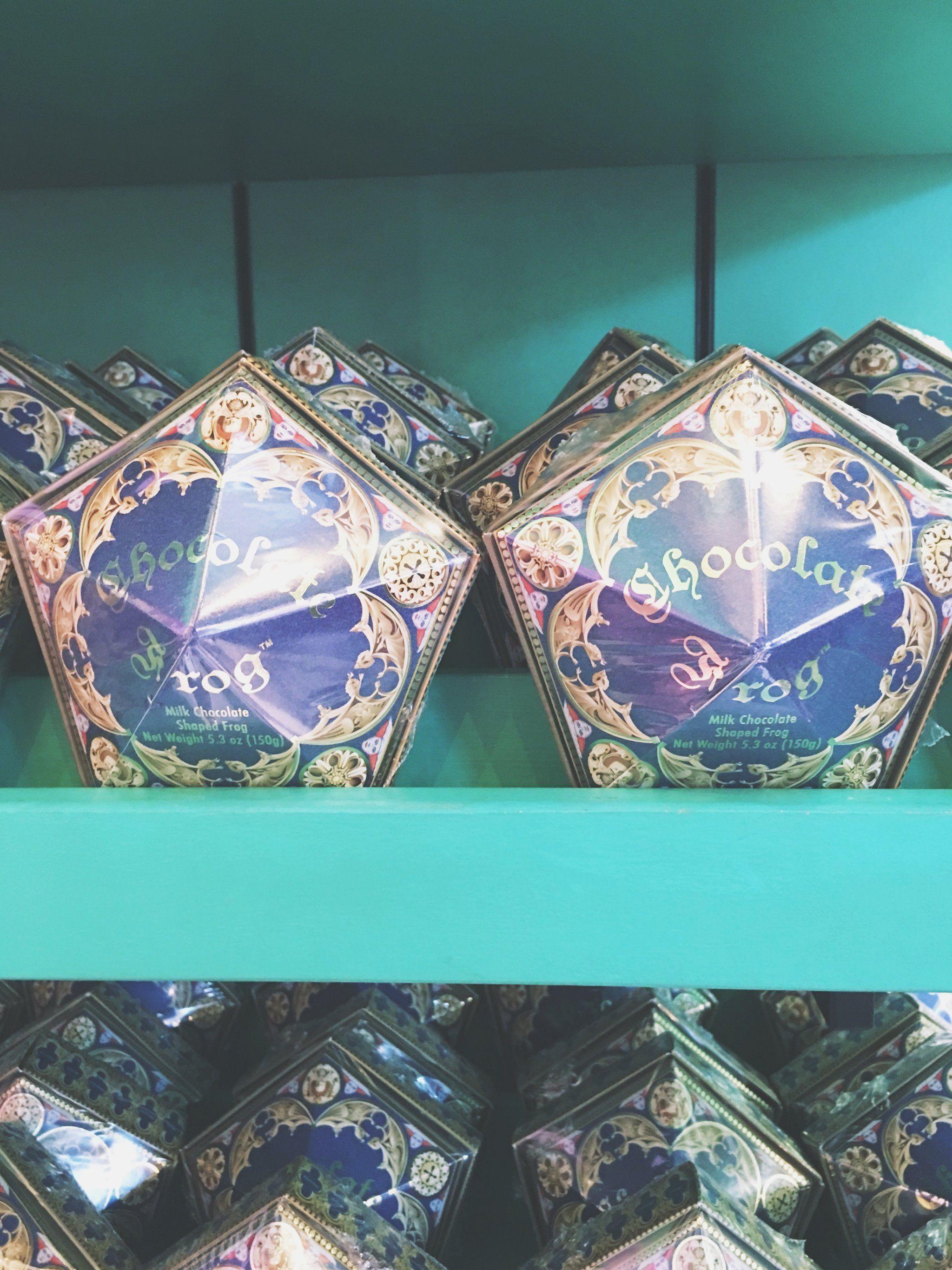 Harry Potter Paraphernalia Chocolate Frogs Box Template Harry