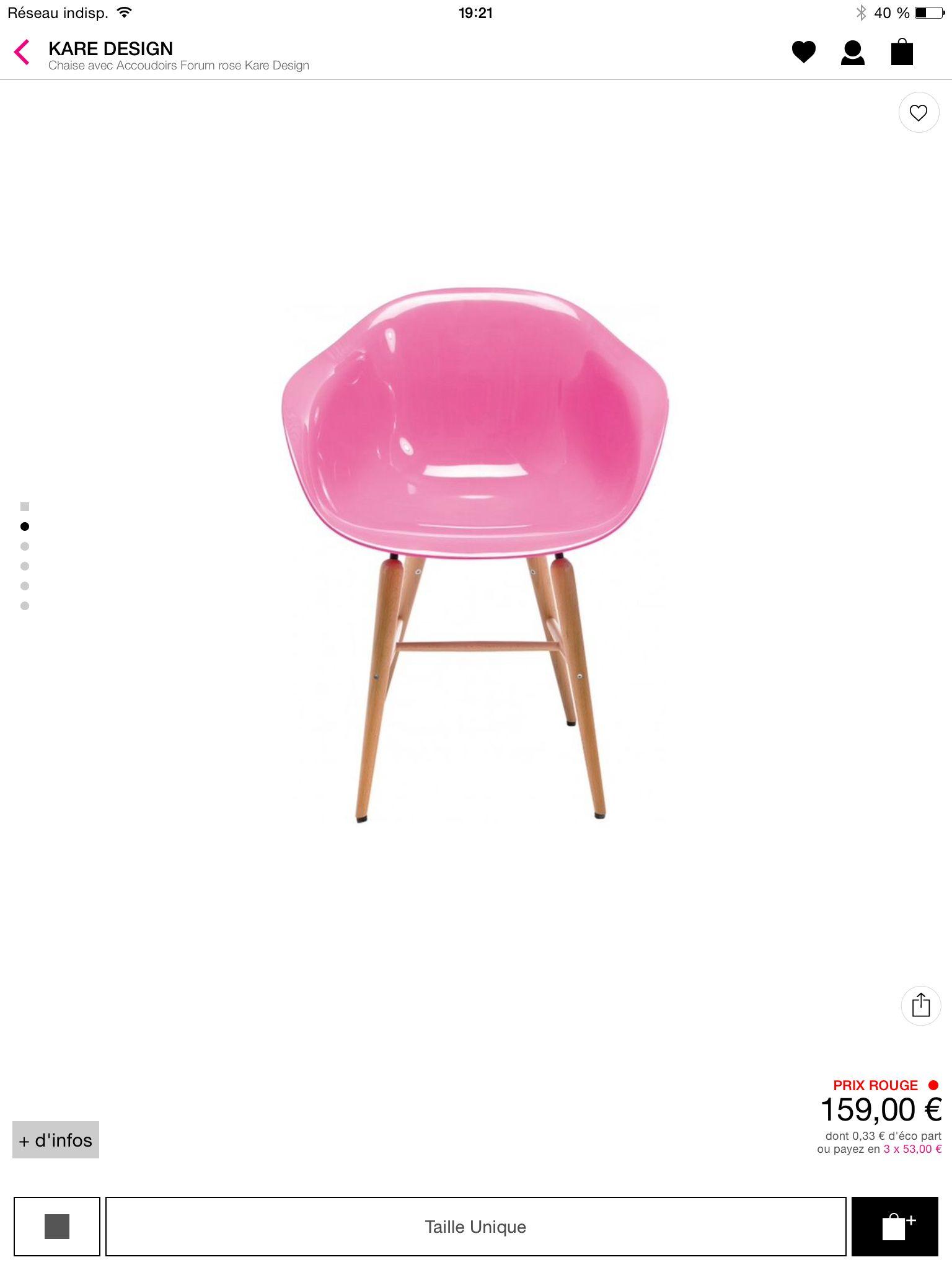 f86952dcb924da chaise la redoute   C o c OO n   Pinterest   La redoute et Chaises