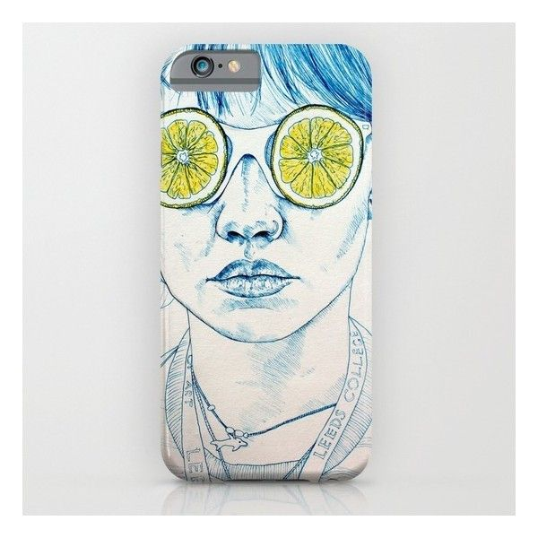 Lemon Lady iPhone 6s Case ($35) ❤ liked on Polyvore featuring accessories, tech accessories and iphone & ipod cases