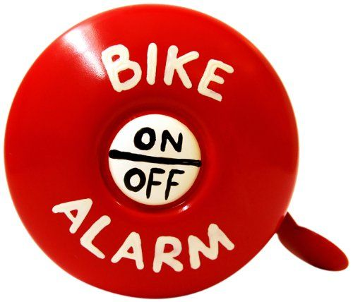 Kikkerland Dring Dring Bike Bell Bike Alarm Continue To The