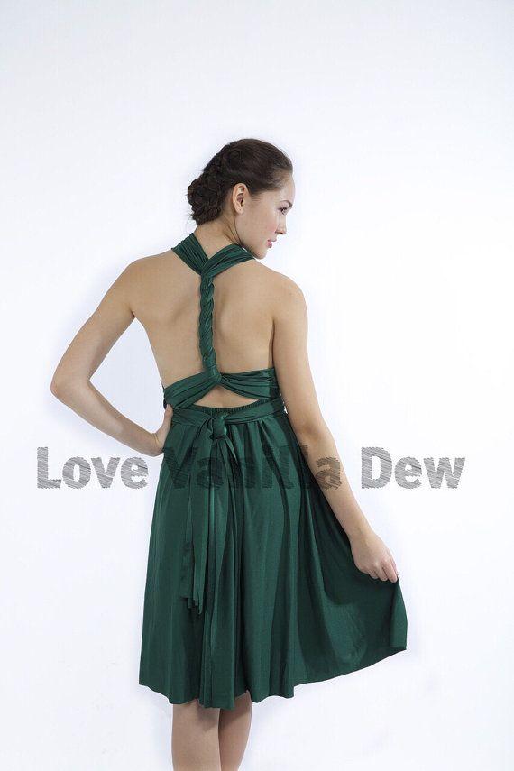 Bridesmaid Dress Infinity Dress Straight Hem by LoveVanillaDew ...