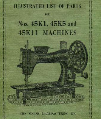 Singer 40K40 40K40 40K4040 Industrial Sewing Machine Parts Reference Cool Parts Of A Manual Sewing Machine