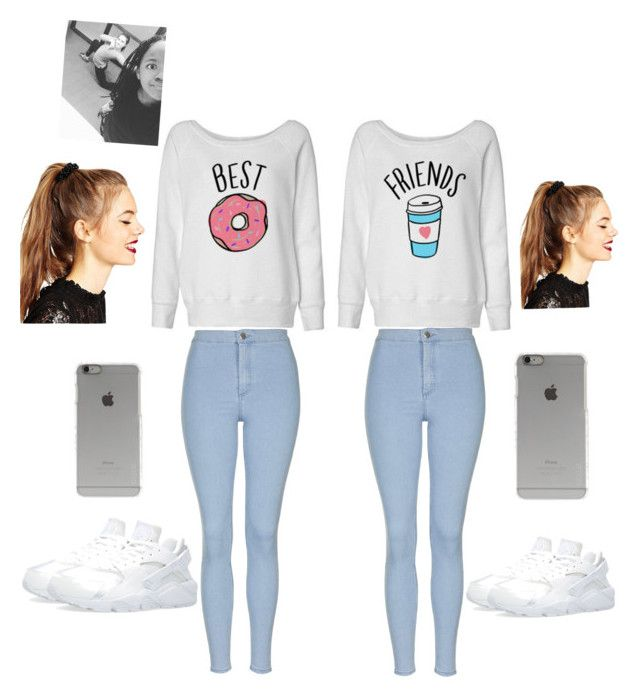 """""""Me and amaias outfit"""" by sassybark ❤ liked on Polyvore featuring Topshop, NIKE, Incase and ASOS"""