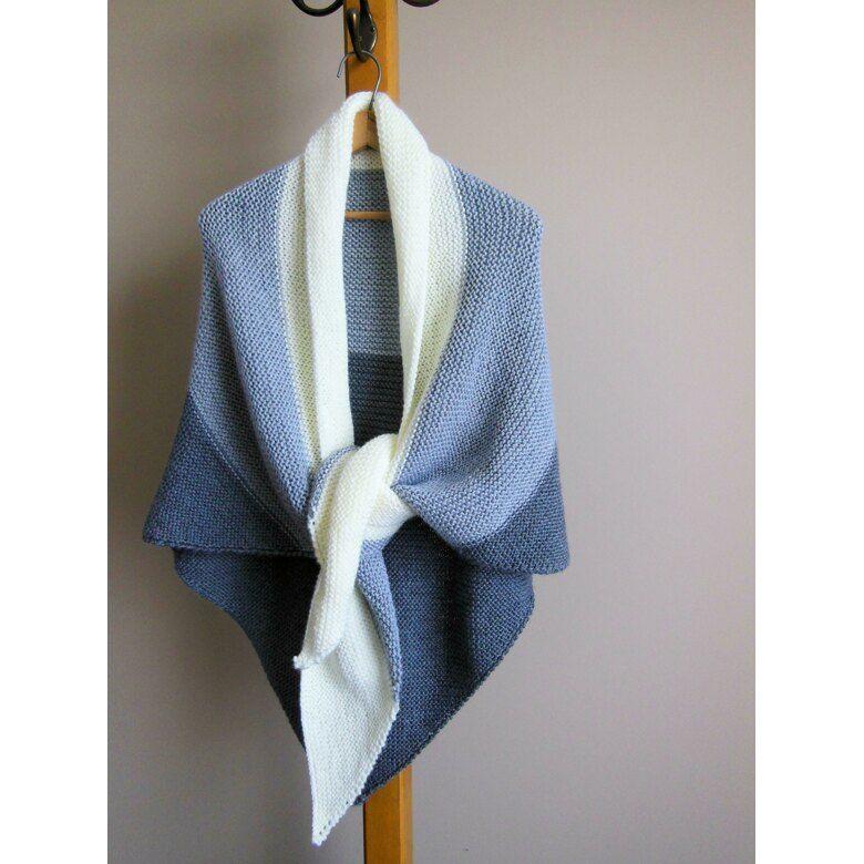 361c8623736 Back Porch Shawl Knitting pattern by Diana Poirier