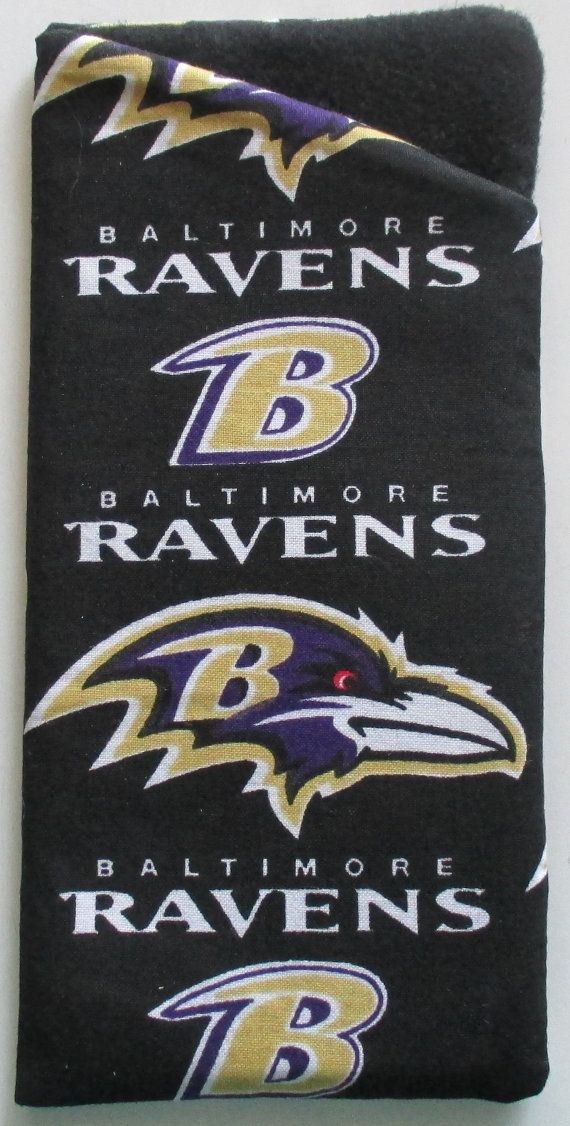 Baltimore Ravens Eye and sunglasses case by AJoyfulCreation, $10.00