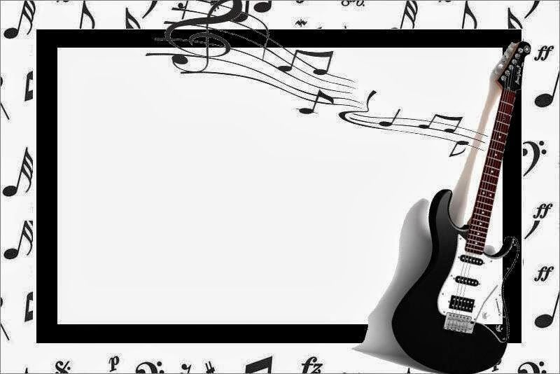 Música Imprimibles Para Fiestas E Invitaciones Para