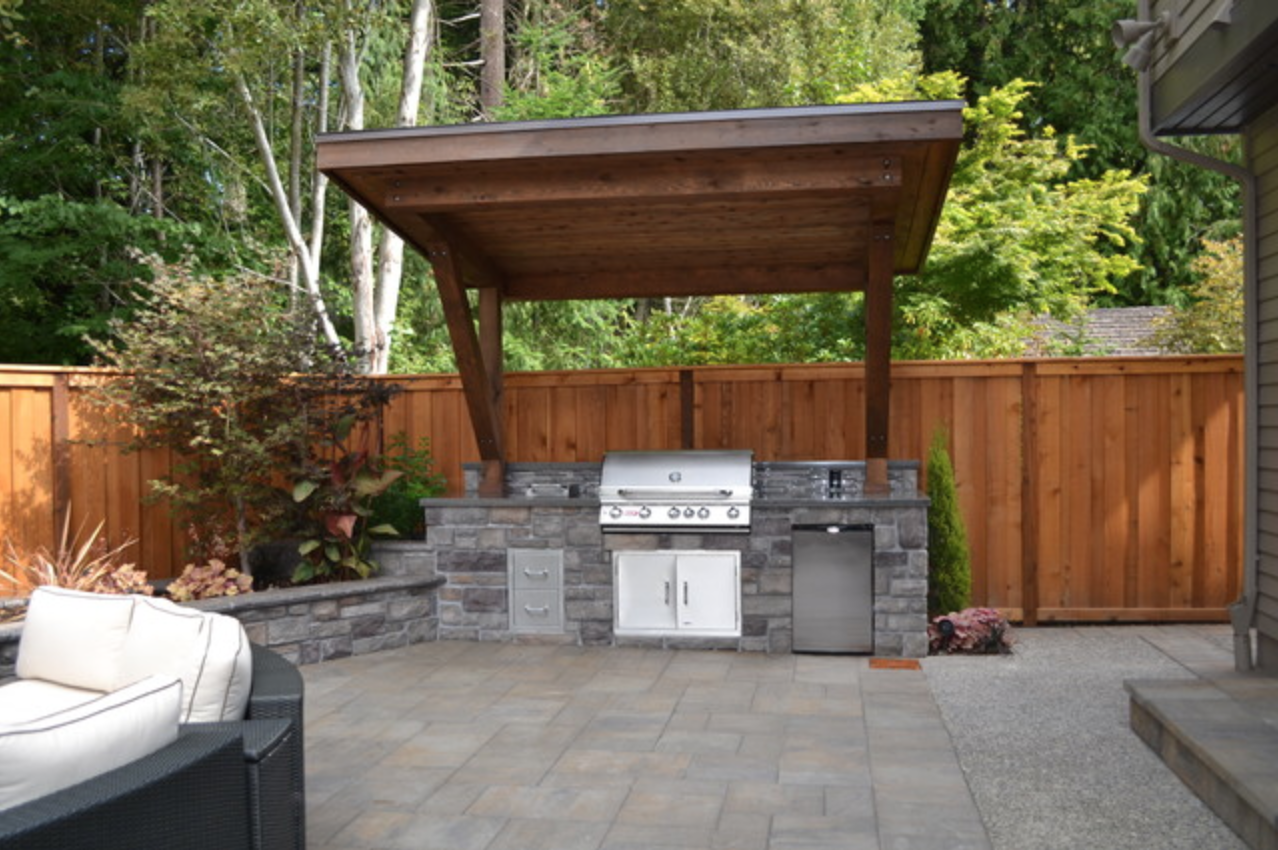 Bbq Lean To Outdoor Barbeque Backyard Grill Ideas Patio Grill